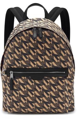 Mulberry Zipped Backpack Black M Jacquard