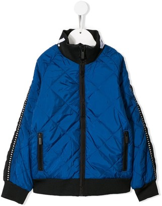 DKNY quilted bomber jacket