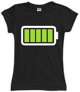 Urban Smalls Black Full Battery Fitted Tee - Toddler & Girls