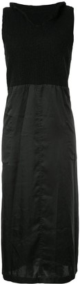 Comme Des Garçons Pre-Owned Knitted Panel Dress