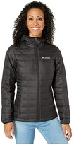 Columbia Voodoo Falls 590 TurboDown Hooded Jacket (Black) Women's Coat