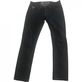 April 77 Blue Cotton - elasthane Jeans for Women