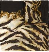 Balmain tiger print scarf