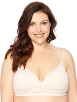 Motherhood Jessica Simpson Plus Size Seamless Clip Down Nursing Bra