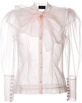 Simone Rocha bow detail blouse
