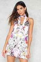 Nasty Gal Waitin' On a Sunny Day Floral Dress