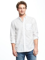 Old Navy Regular-Fit Soft-Washed Classic Shirt For Men