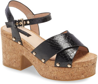 Topshop Platform Sandal