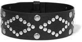 Isabel Marant Zikka Studded Leather Belt - Black