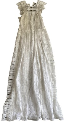 Burberry White Lace Dresses