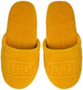 Versace Home - Men's Medusa Classic Jacquard Slippers - Gold - Small