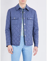 Brioni Quilted Silk Jacket