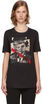 Neil Barrett Black 'Freedom Fighters' Hybrid T-Shirt