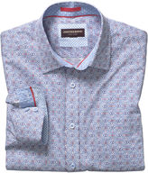 Johnston & Murphy Gaelic Scroll Print Shirt
