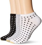 Gold Toe Women's Ultra Light Mini Dot No Show Sock 6-Pack