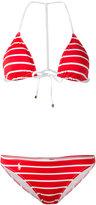 Polo Ralph Lauren striped bikini - women - Nylon/Polyester/Spandex/Elastane - S