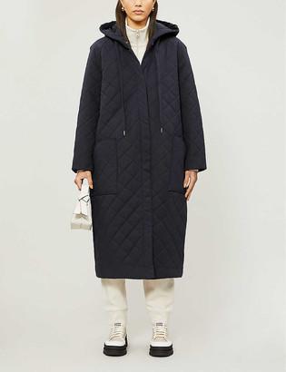 Won Hundred Donna hooded cotton-blend coat