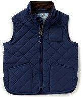 Class Club Little Boys 2T-7 Zip-Front Quilted Vest