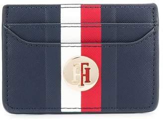 Tommy Hilfiger logo stripe card holder