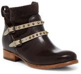 Alberto Fermani Emma Studded Buckle Strap Ankle Boot