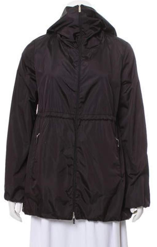 d5c6227fd Moncler Jackets Hood Black - ShopStyle