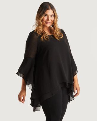 Estelle Women's Tunics - Decadence Top - Size One Size, 8 at The Iconic