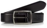 Jeff Banks Designer Black Pin Buckle Leather Belt