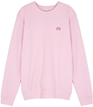 YEAH RIGHT NYC Flirt Pink Cotton-blend Sweatshirt