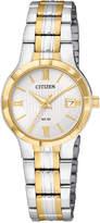 Citizen Women's Two-Tone Stainless Steel Bracelet Watch 25mm