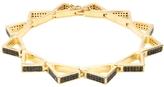 Noir Modernist Triangle Bracelet