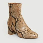 Anthology Paris - Python Leather Daniela Boots - leather | 38