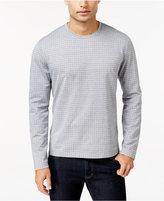 Alfani Men's Printed Long-Sleeve T-Shirt, Regular Fit