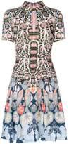 Temperley London Spiral printed mini dress
