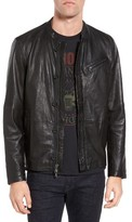 John Varvatos Men's Leather Jacket