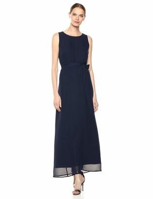 Sharagano Women's Chiffon Maxi Dress