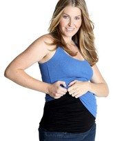 Belly Armor with RadiaShield Maternity Belly Band - Black