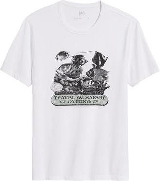 Banana Republic Heritage Fish Graphic T-Shirt
