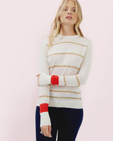 Ted Baker Metallic striped sweater
