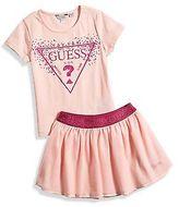GUESS Alia Tee and Skirt Set (12M-4T)
