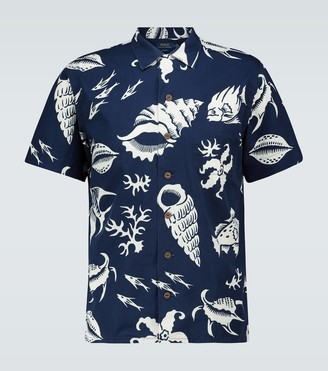 Polo Ralph Lauren Hawaii sea patterned shirt