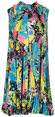 Balenciaga Pleated Dress