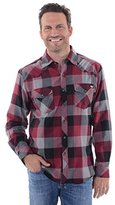 Dickies Men's Regular Fit Western Flannel Shirt
