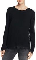 Generation Love Marjorie Lace Trim Sweater