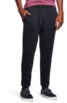 Mossimo Men's Diamond Quilted Knit Jogger Black