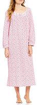 Eileen West Floral Jersey Ballet Nightgown
