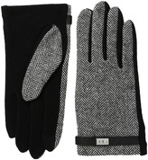 Lauren Ralph Lauren Menswear Pattern Metal Logo Touch Gloves