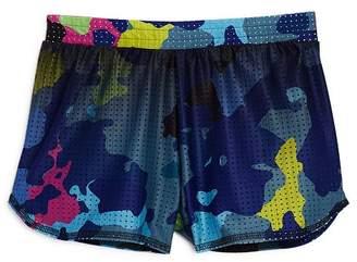 Terez Girls' Camouflage Mesh Shorts - Little Kid, Big Kid