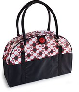 2 Red Hens Coop Carry-All Diaper Bag, Owl Dots by
