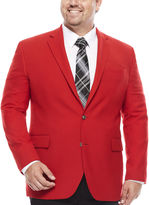 STAFFORD Stafford Hopsack Classic-Fit Sportcoat - Big & Tall