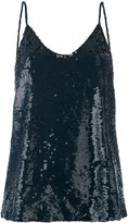 P.A.R.O.S.H. sequin camisole top